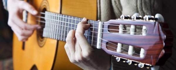 Juiste gitaar houding
