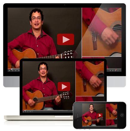 Online gitaarles Rogier