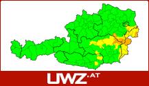 Aktuelle Unwetterwarnungen für Tirol