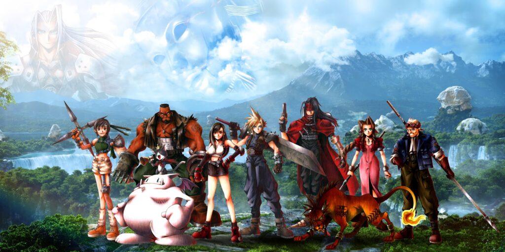 Final Fantasy VII possède un scénario digne d'un film d'aventures avec des histoires parralèles en fonction de l'avancée de la partie.