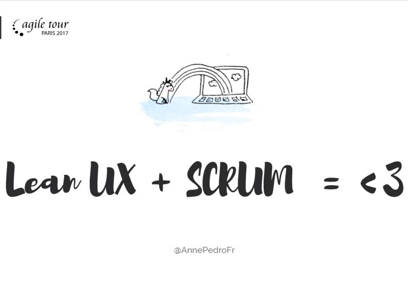 lean ux + scrum = amour
