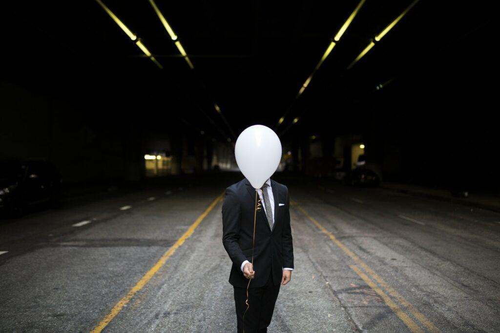 syndrome de l'imposteur homme ballon