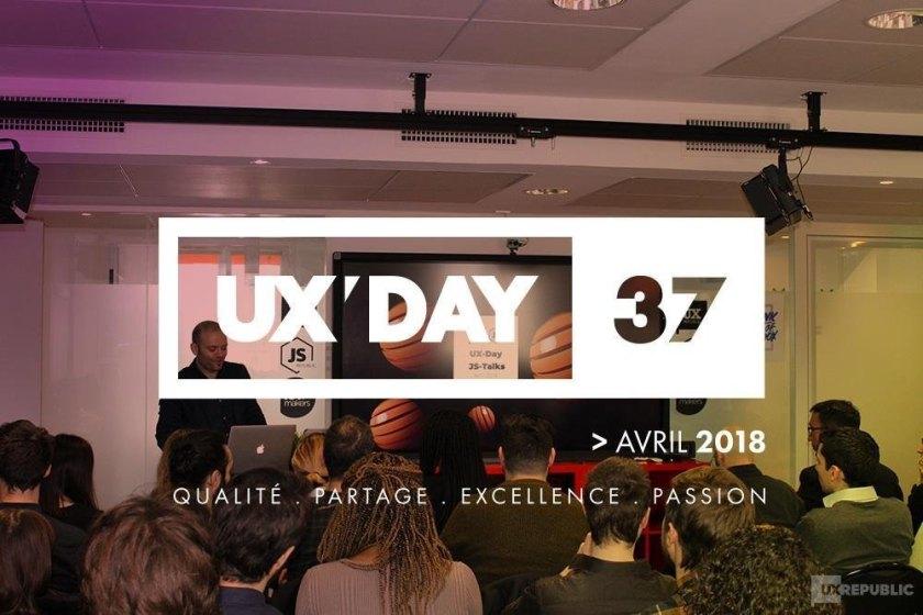 UX DAY 37 chez UX Republic
