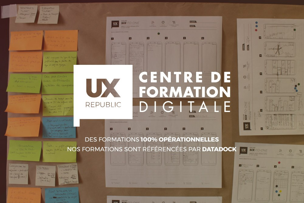 UX-Republic Centre de Formation Digitale UX-DESIGN