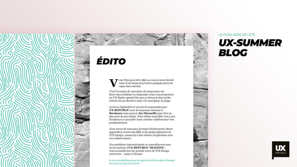 ux summer blog edito