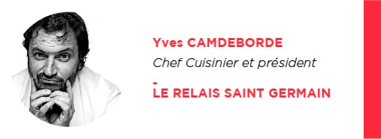 UX Yves Camdeborde Le Relais Saint Germain Uxconf