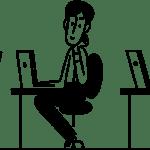 Illustration de Roman Muradov en page d'accueil de Notion.so