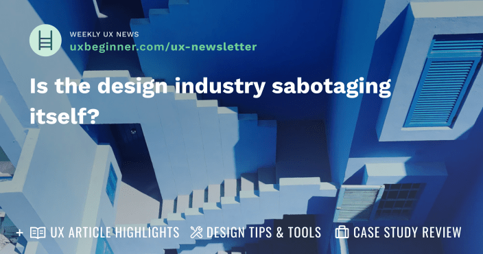 Is the design industry sabotaging itself?