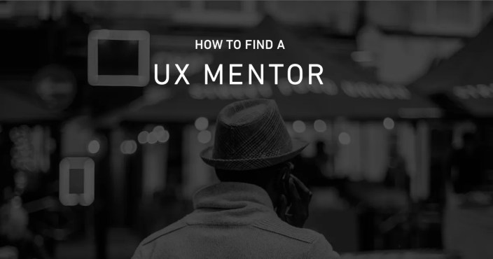 how to find a ux mentor