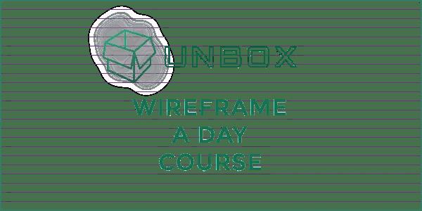 UXB-UNBOX-Wireframe-A-Day-Logo