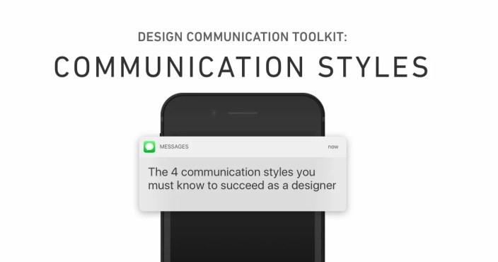 ux design communication toolkit - communication style