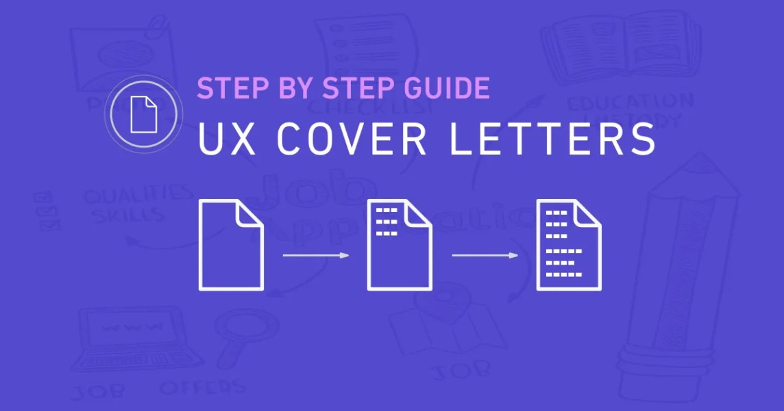 UX Cover Letters - a Step by Step Guide