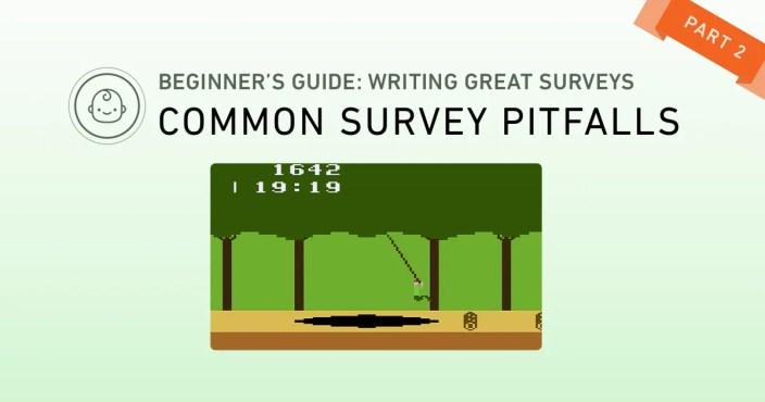 ux design - common pitfalls survey design