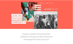 best-ux-design-communities-groups-Hexagon UX