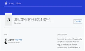 best-ux-design-communities-groups-User Experience Professionals Network