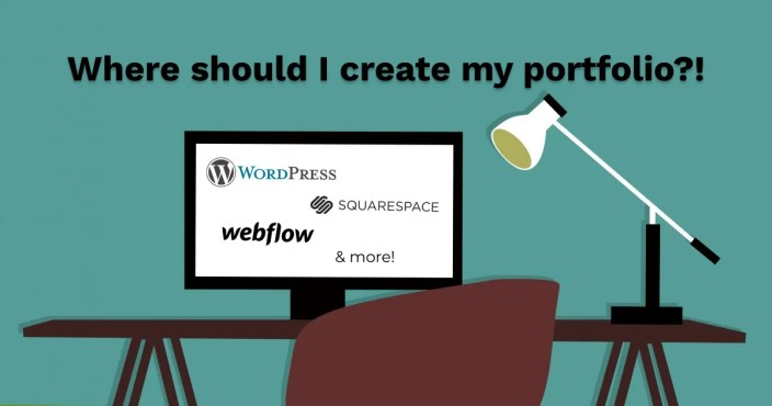 Where should I create my portfolio?