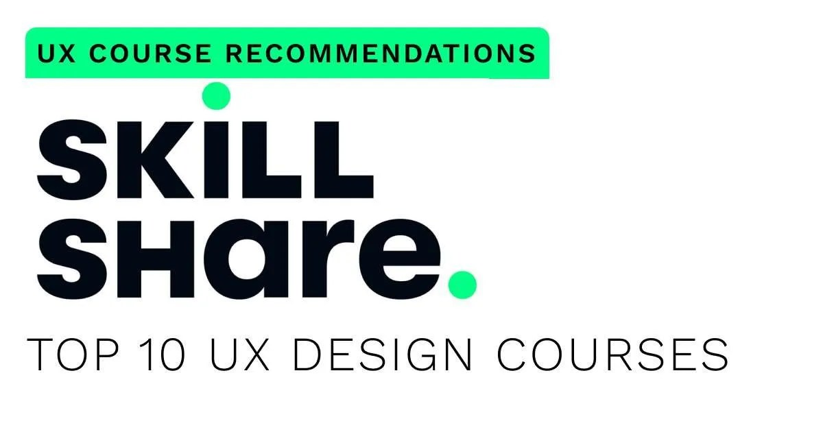 best-top-skillshare-ux-design-course-recommendations