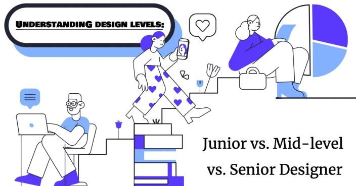 Understanding design levels: Junior vs Mid-level vs Senior UX Designer