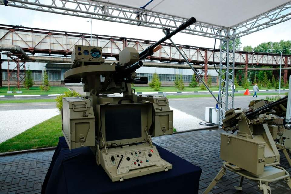 One of the weapons systems unveiled by the Kalashnikov Group. Image:  Kalashnikov Group