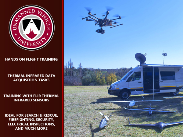 Uav Thermal Infrared Operations Certificate Course