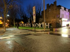 Bromley North sign