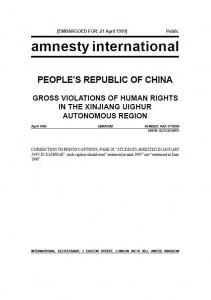 31 March 1999 Amnesty International