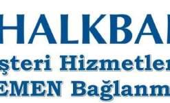 Halkbank Müşteri Hizmetlerine Direk Bağlanma (HEMEN)