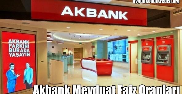 Akbank vadeli hesap faiz oranları 2018