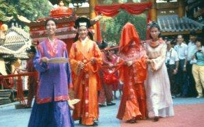 Çin'de bir köy düğünü