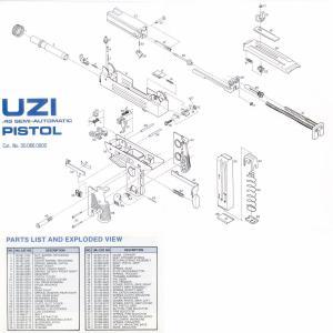 UZI Talk  Parts Diagrams