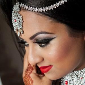 Bold Smokey Eye Bridal Makeup