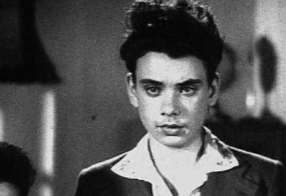 Первая роль Алексей Баталова – фильм «Зоя», 1944 год