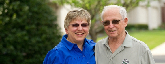 Senior Couple Independent Living