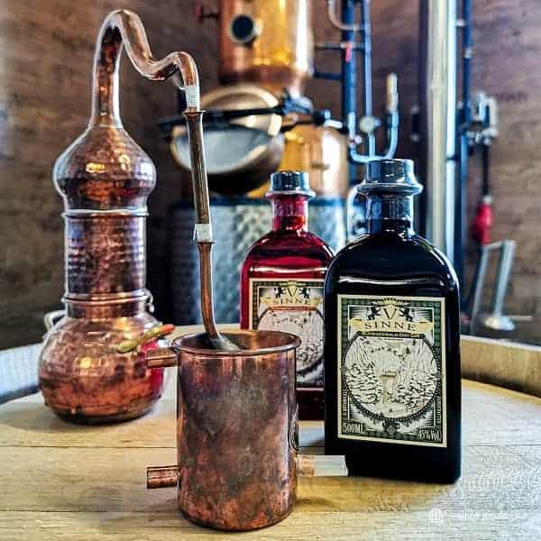 V-SINNE Gin Entstehungsgeschichte
