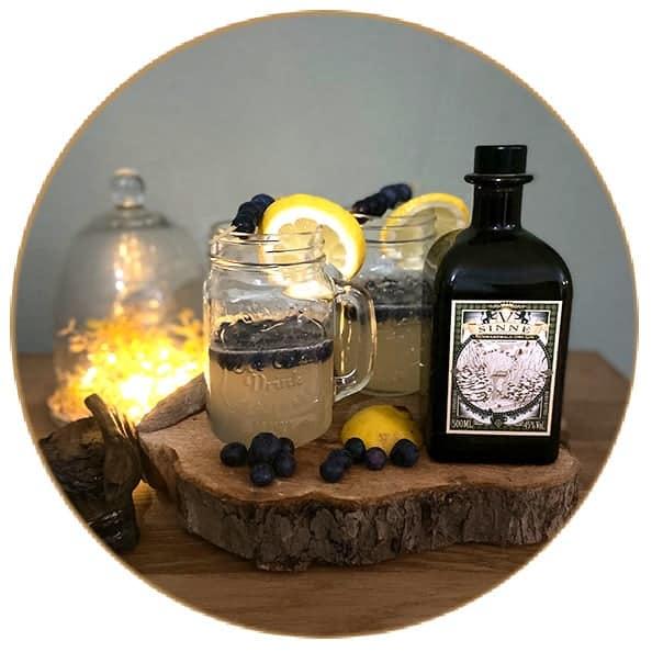 V-SINNE Gin Cocktail Schwarzwald Lust