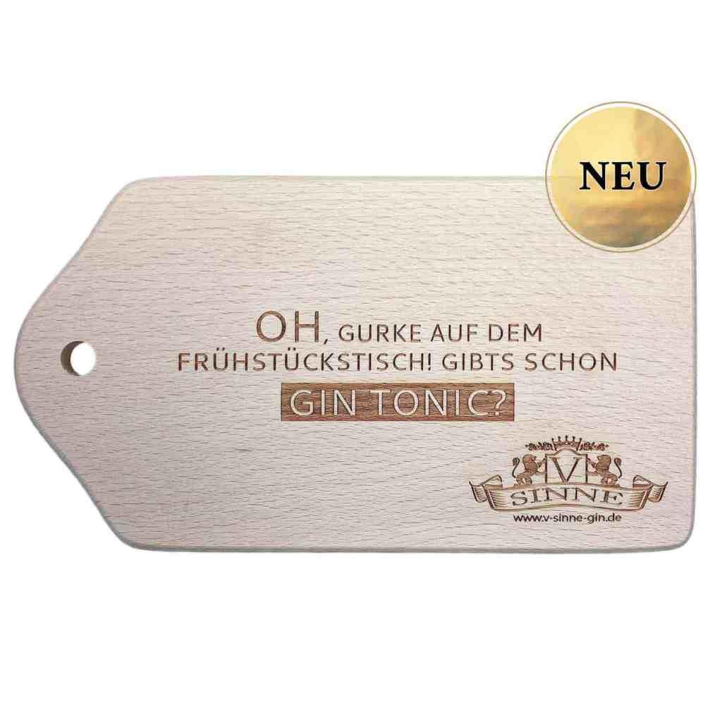 V-SINNE Schwarzwald Gin Frühstücksbrettle