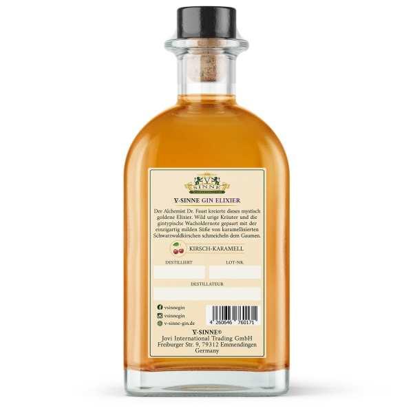 fünf sinne Elixier gin schwarzwald