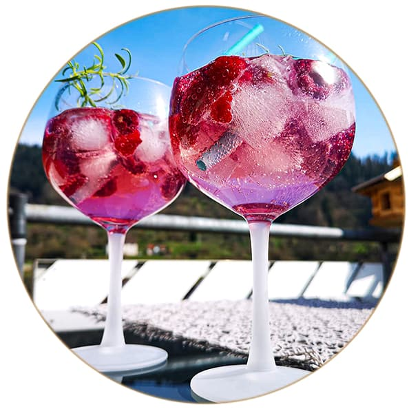Gin Tonic Cherry Blossom