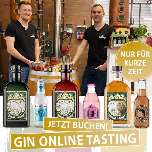 Online Gin Tasting LIVE EVENT