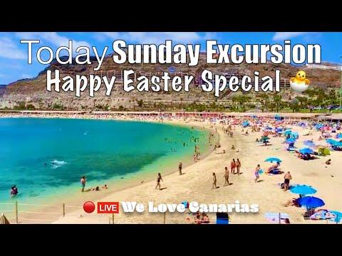 Gran Canaria Live 🔴Today A Happy Easter 🐣Special | We❤️Canarias