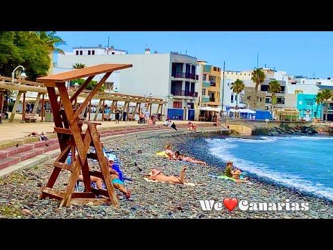 Gran Canaria Playa de Arinaga Boardwalk + Beach Life | We❤️Canarias