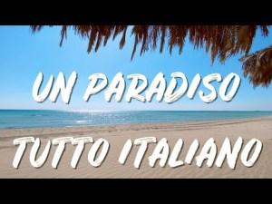 UN PARADISO TUTTO 🇮🇹 ITALIANO 🇮🇹 relax al mare!