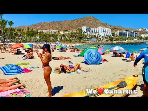 Gran Canaria Anfi del Mar to Patalavaca Beachwalk   We❤️Canarias