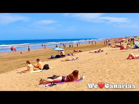 Gran Canaria Playa del Ingles Beachwalk + Boardwalk | We❤️Canarias