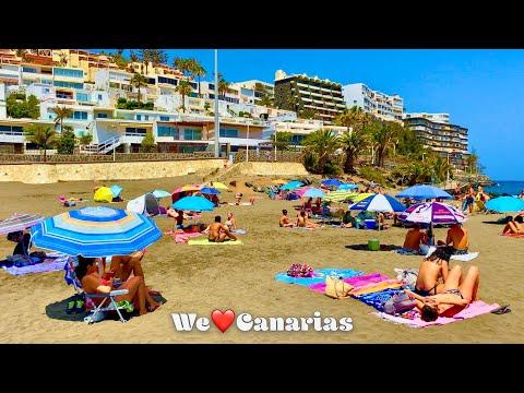 Gran Canaria Playa del Ingles San Agustin Beach + Hotels   We❤️Canarias