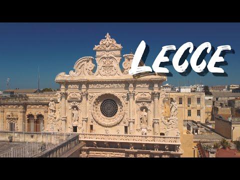 LECCE un breve video nel centro storico della mia città preferita