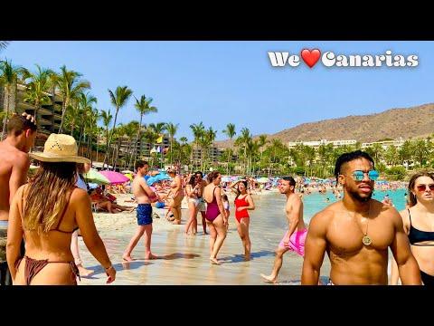 Gran Canaria Anfi Beach Playa del Ingles Puerto Rico | We❤️Canarias