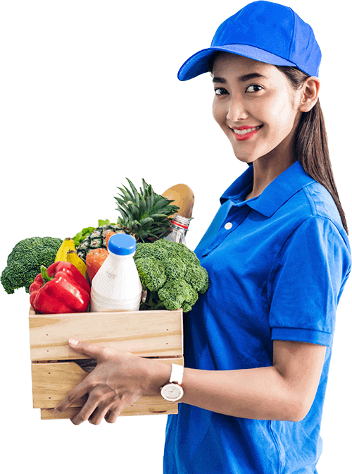 on demand grocery delivery app