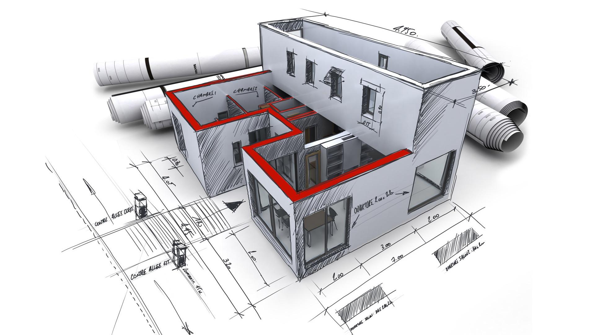 Best Kitchen Gallery: 3d Architectural Design Wallpaper 1 19 1920x1080 Wallpaper of Architectural Design  on rachelxblog.com