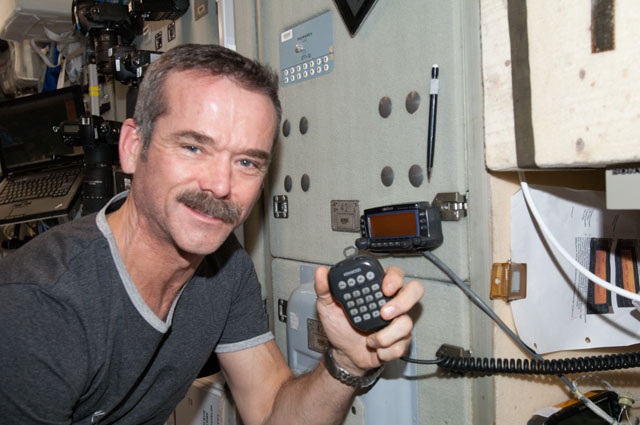 iss hadfield